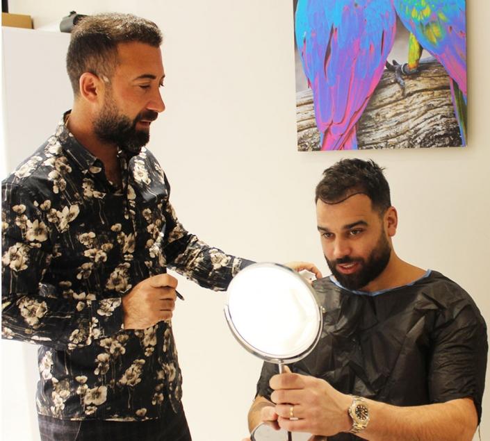 La clinique qui a effectué la greffe de cheveux pour Noré Abdelali